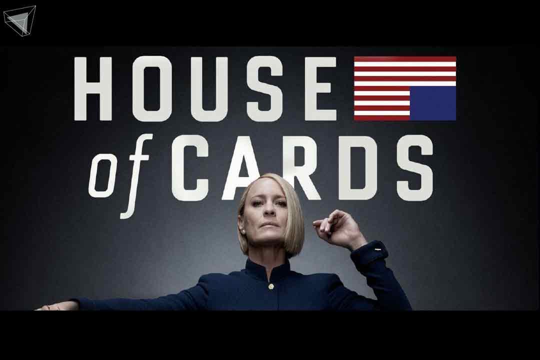 ซีรีส์การเมือง จาก Netflix House of Cards (6 Season: 2013-2018)