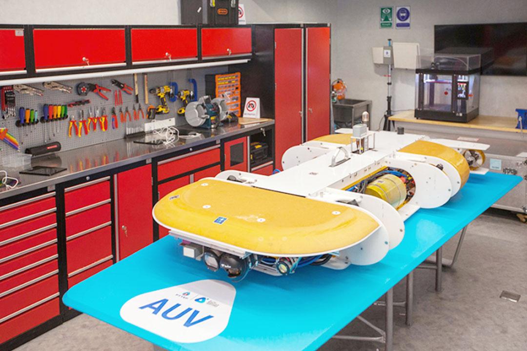 ปัญญาประดิษฐ์ หุ่นยนต์ใต้น้ำอัตโนมัติไร้สาย