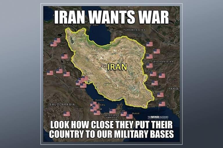 ก่อนเกิดสงครามโลกครั้งที่ 3 สหรัฐฯ ได้ปิดล้อมอิหร่านที่อิรักและอัฟกานิสถาน