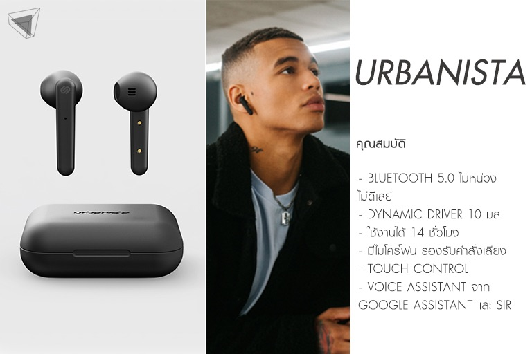 Urbanista Stockholm True Wireless
