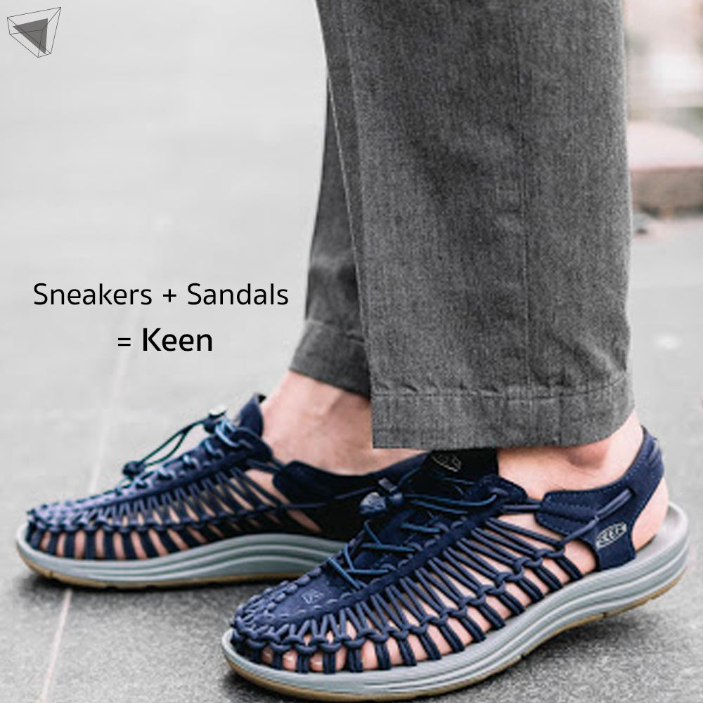 Sneakers + Sandals = รองเท้า Keen