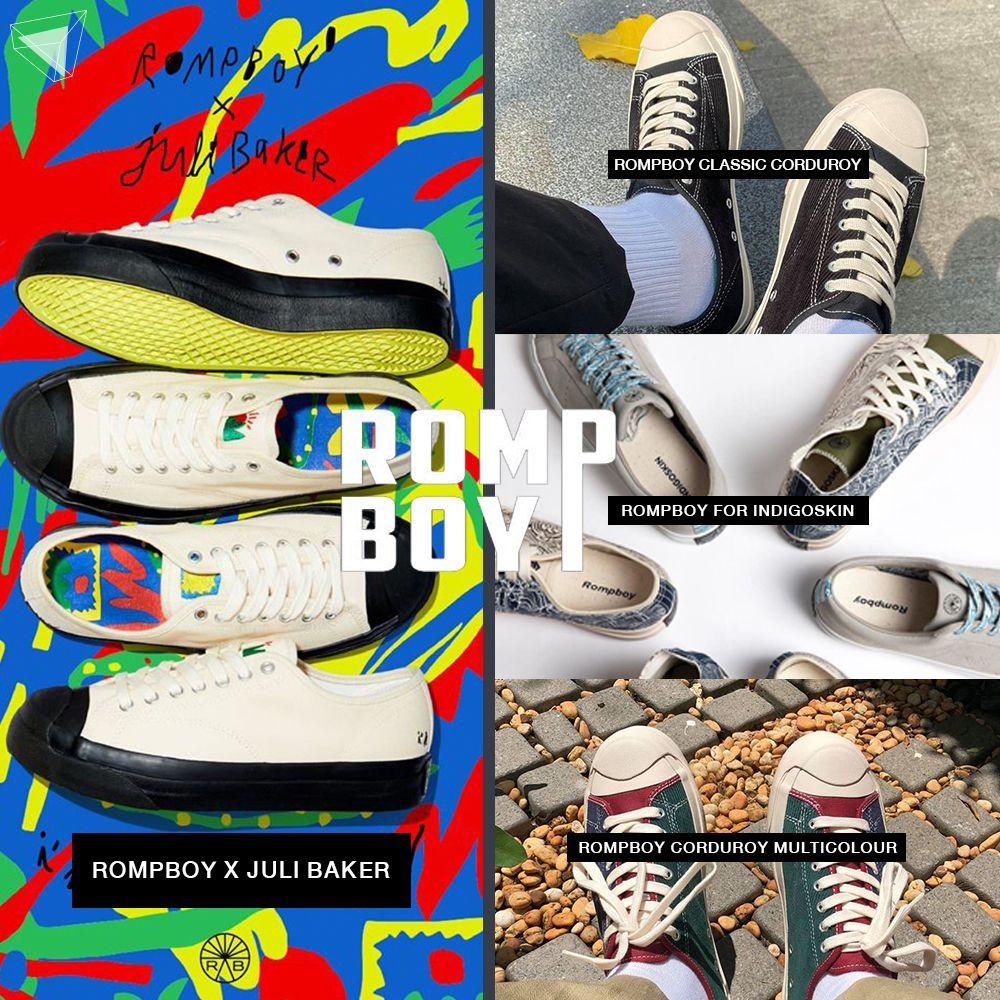 รองเท้า Sneaker แบรนด์ไทย Rompboy
