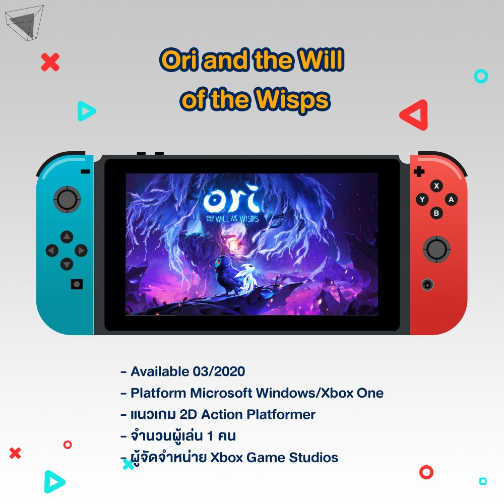 เกม Nintenodo Switch Ori and the Will of the Wisps