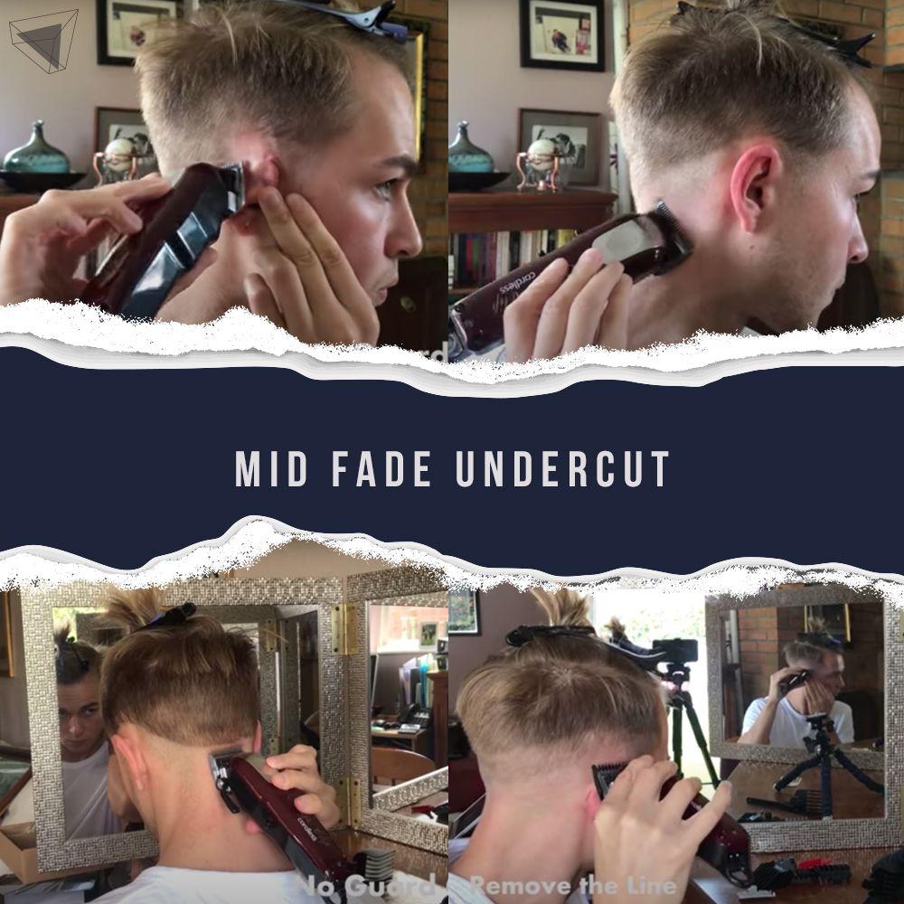 Mid Fade Undercut