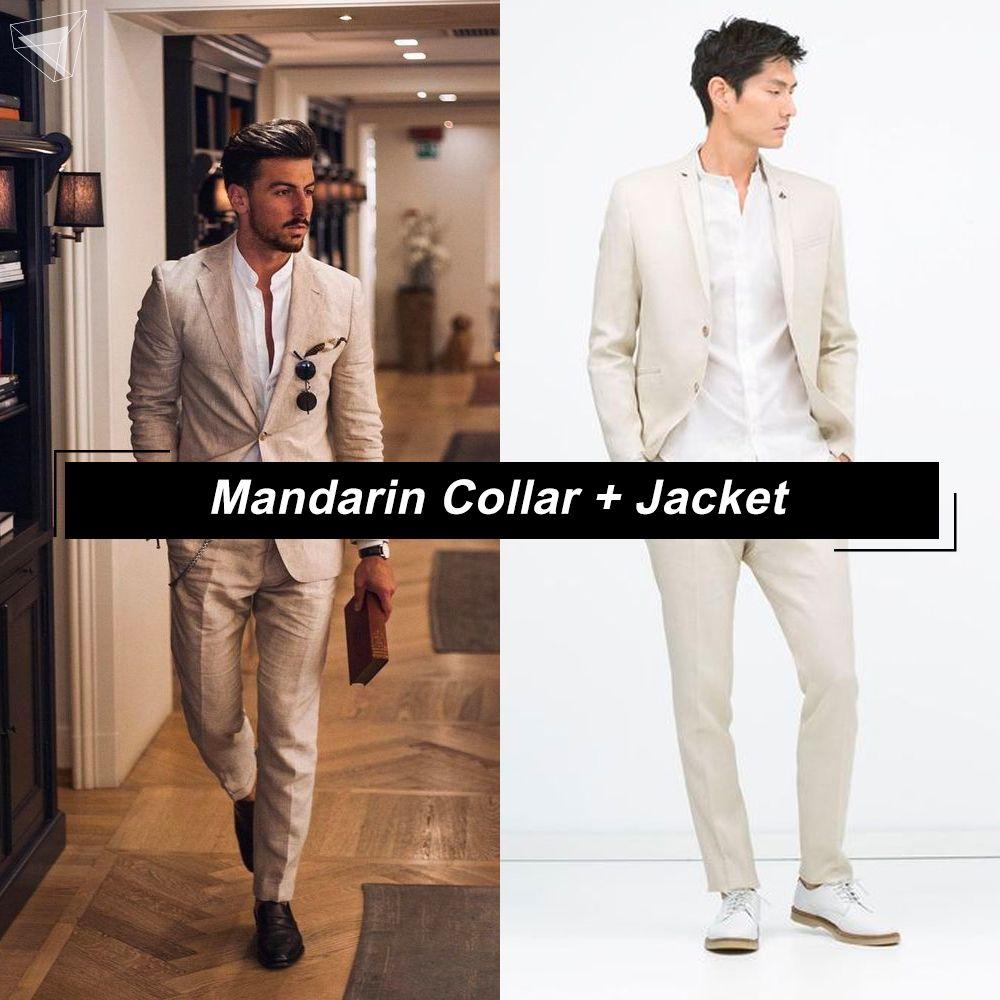 เสื้อคอจีนกับแจ็กเก็ต (Mandarin Collar + Jacket)