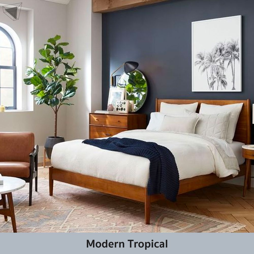 Modern Tropical แต่งห้องนอนผู้ชาย