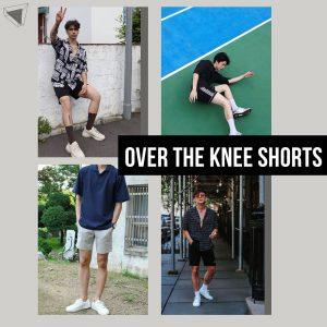 แต่งตัวผู้ชายด้วย Over the Knee Shorts