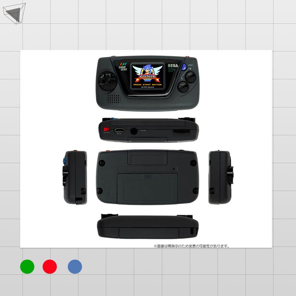 เครื่องเกมคอนโซล Game Gear Micro