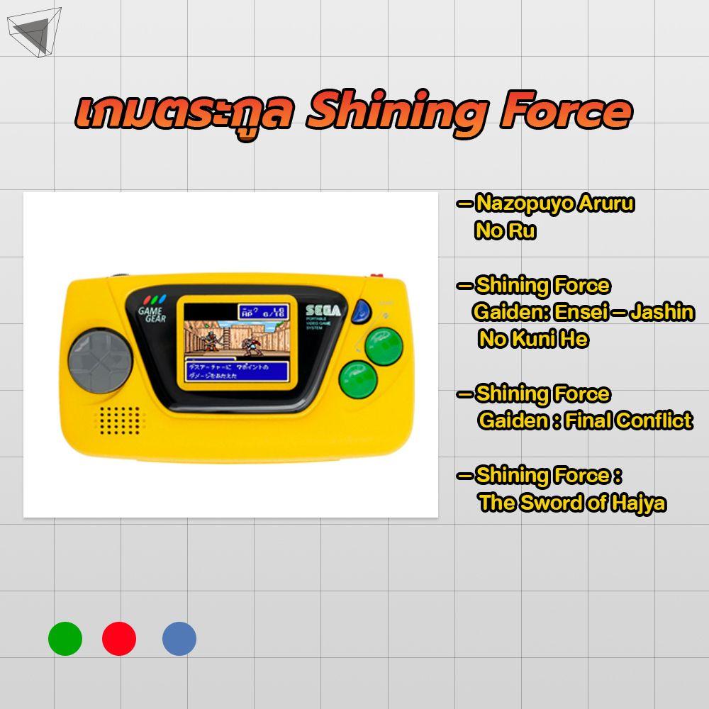 Game Gear Micro สีเหลือง