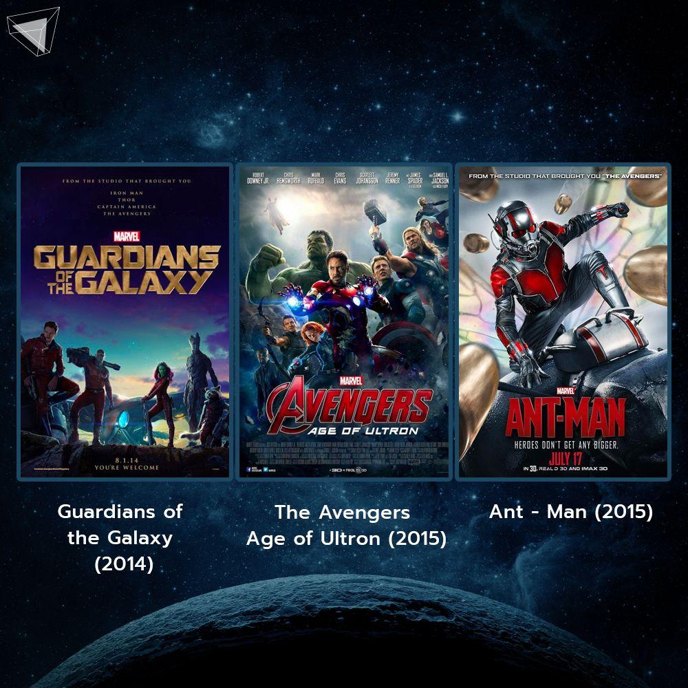 หนัง Marvel Phase 2