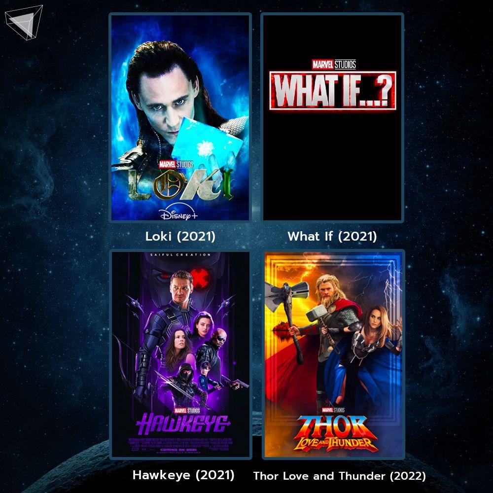 หนัง Marvel Phase 4