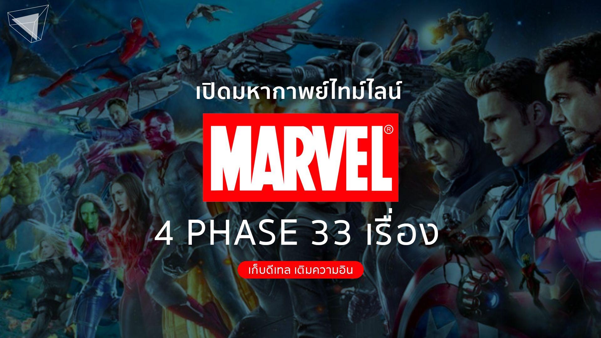 หนัง Marvel หนังมาร์เวล