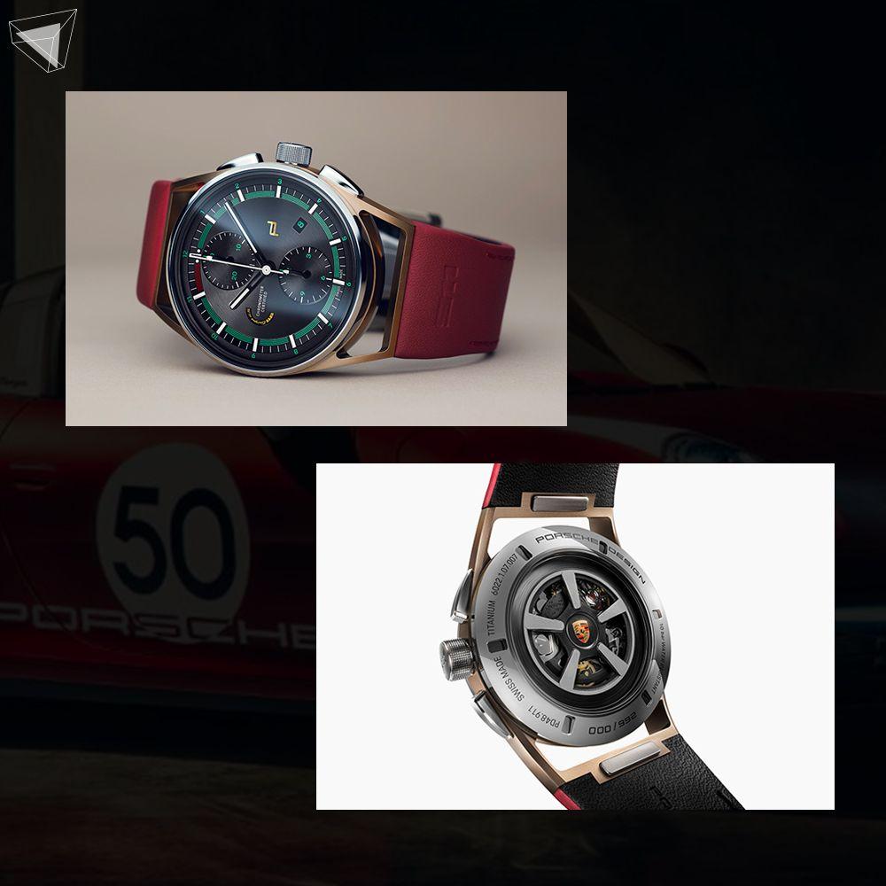 นาฬิกา Chronograph 911 Targa 4S Heritage Design Edition
