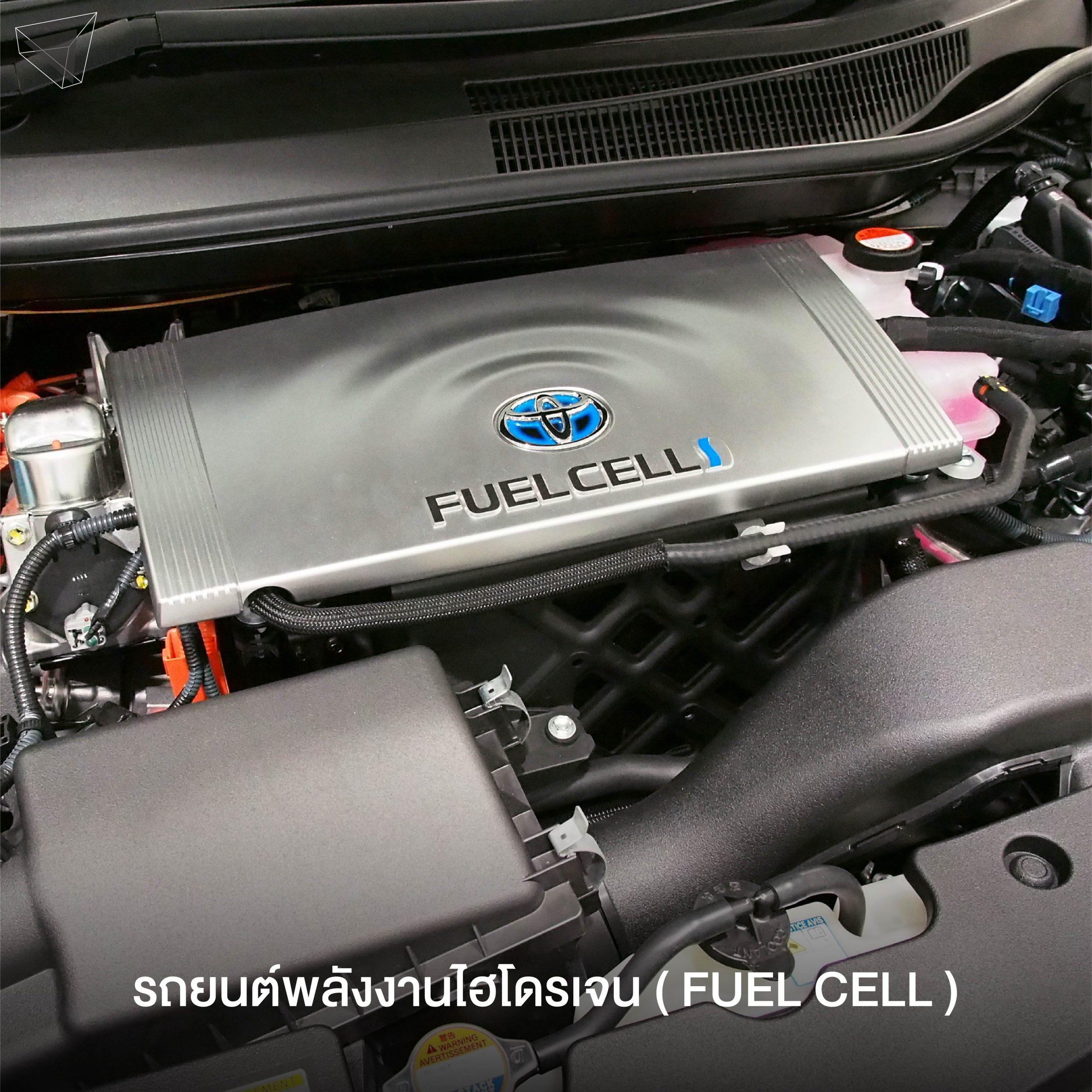 รถพลังงานไฮโดรเจน (Fuel Cell)
