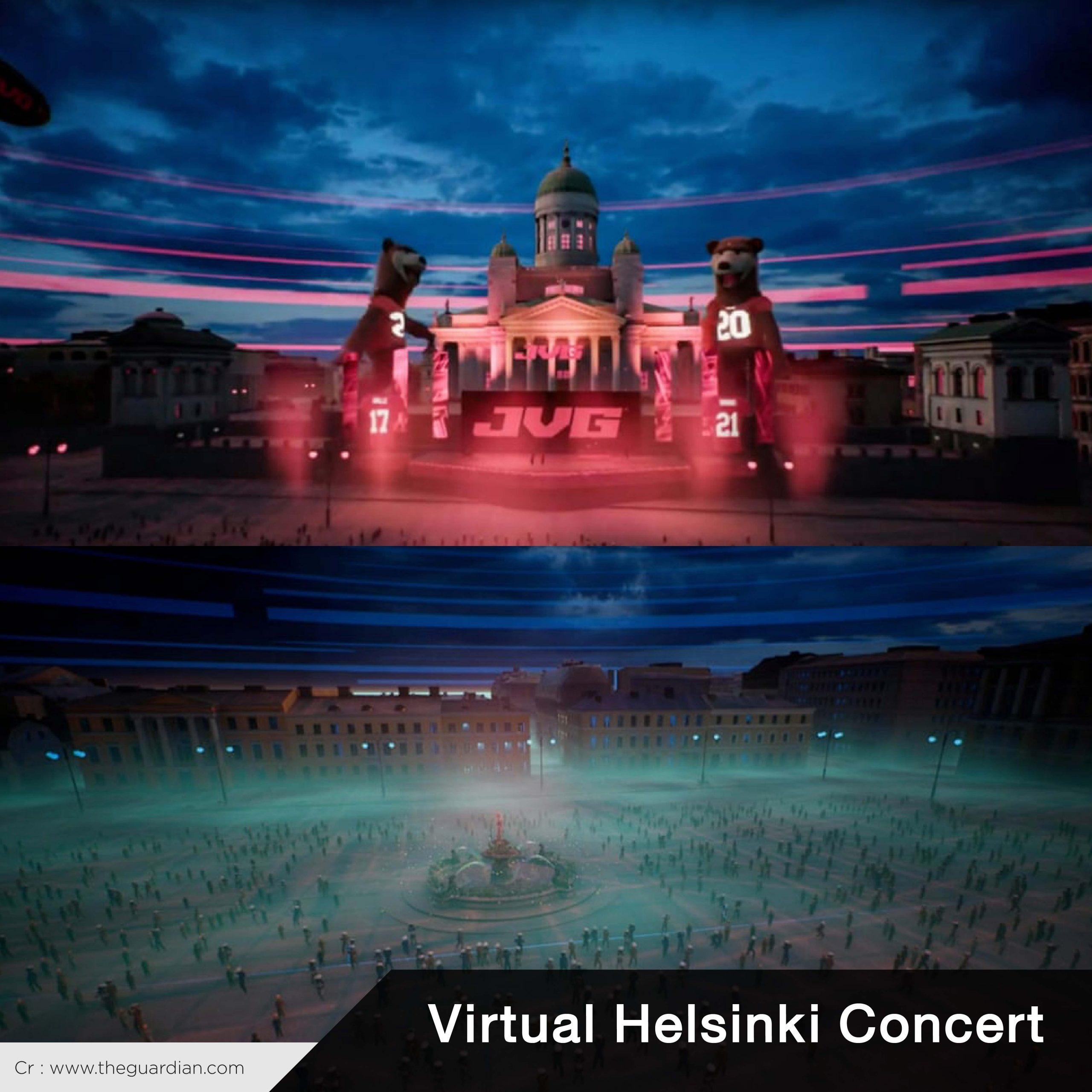 Virtual Concert Virtual Helsinki Concert