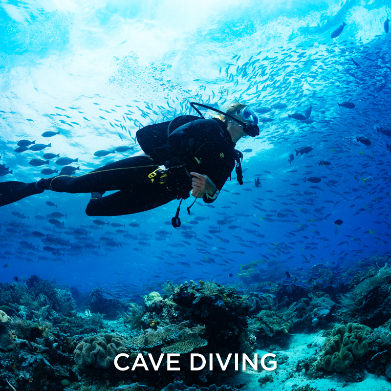 Cave diving Extreme Sport