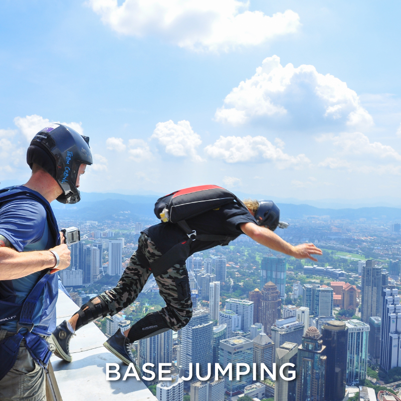Base Jumping Extreme Sport