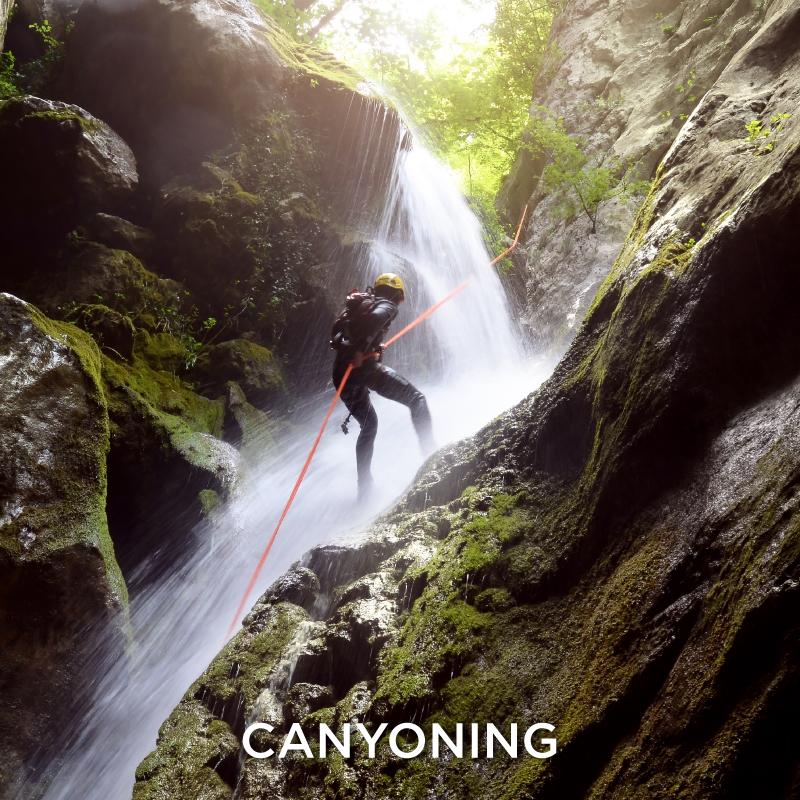 Canyoning Extreme Sport