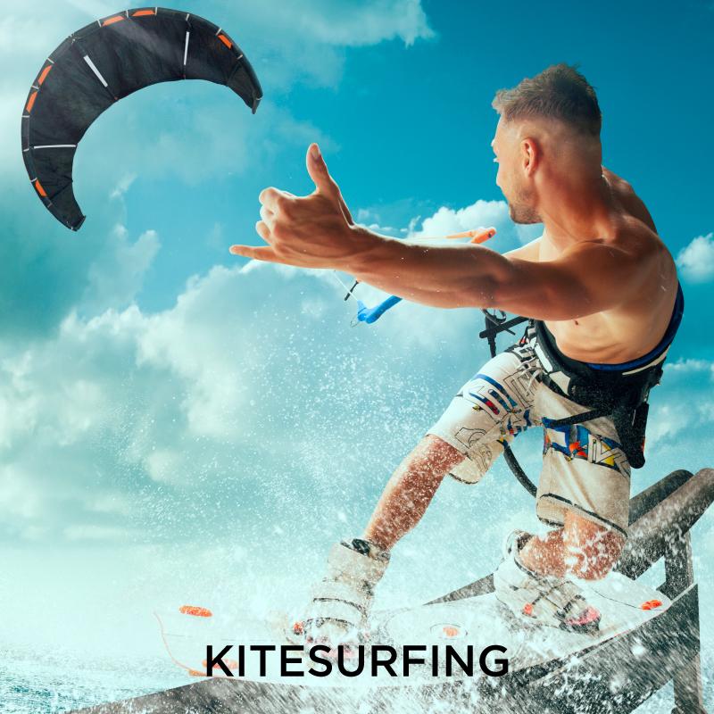 Kitesurfing Extreme Sport