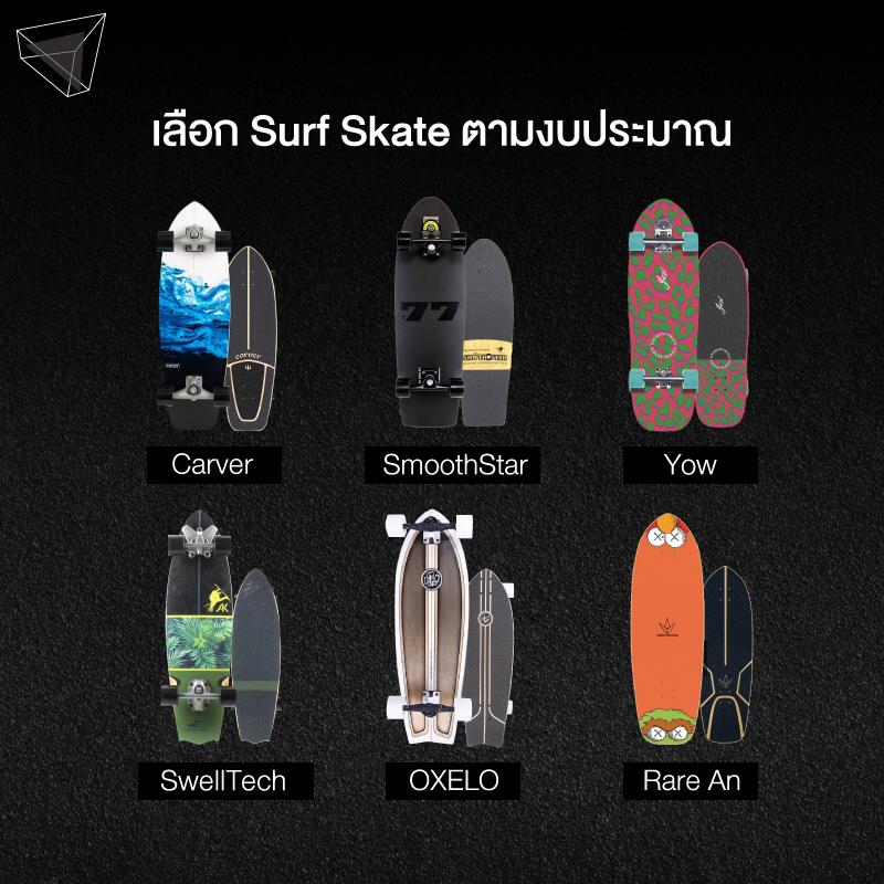 วิธีเลือก Surf Skate