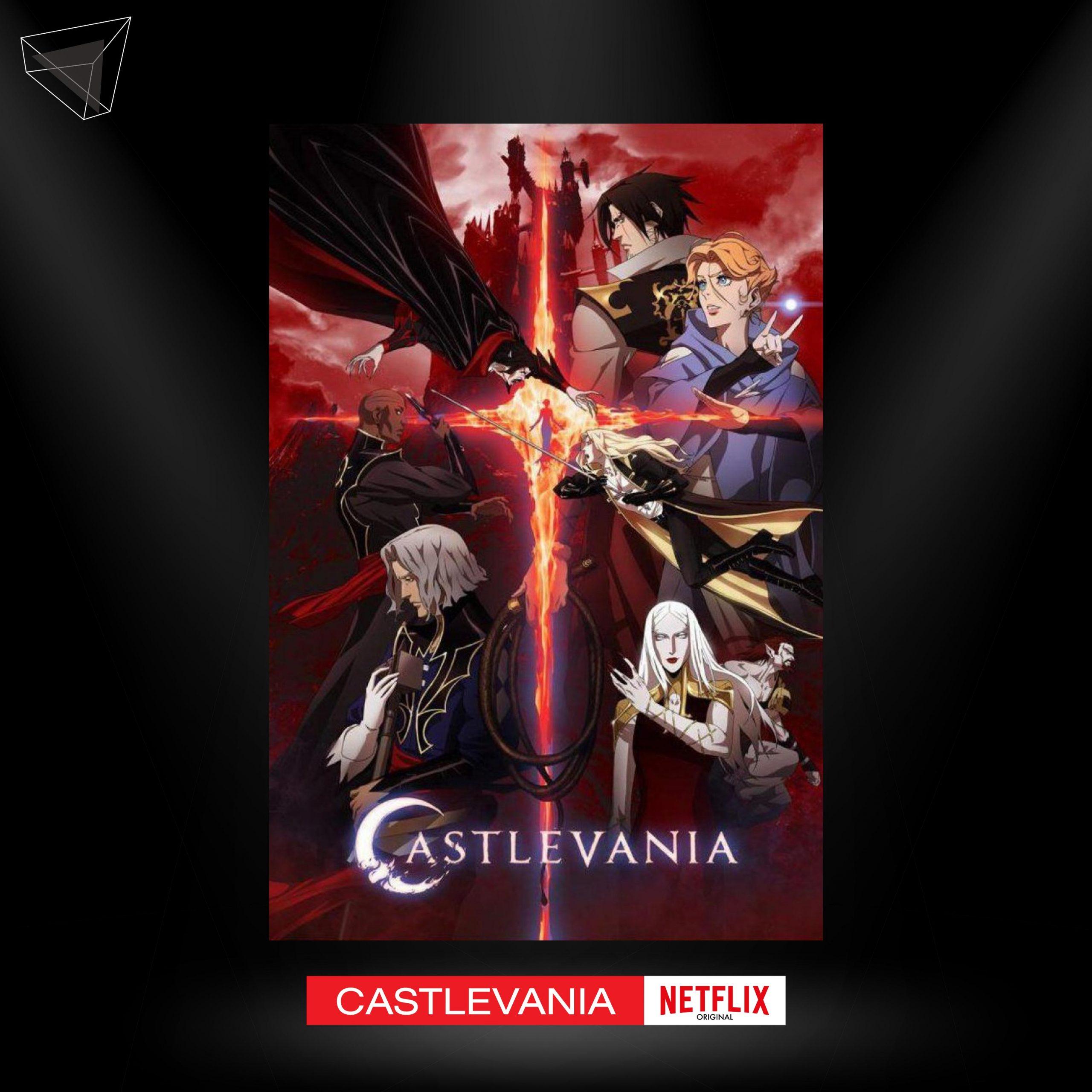 """อนิเมะน่าดู เรื่อง """"Castlevania"""" (Netflix Originals)"""