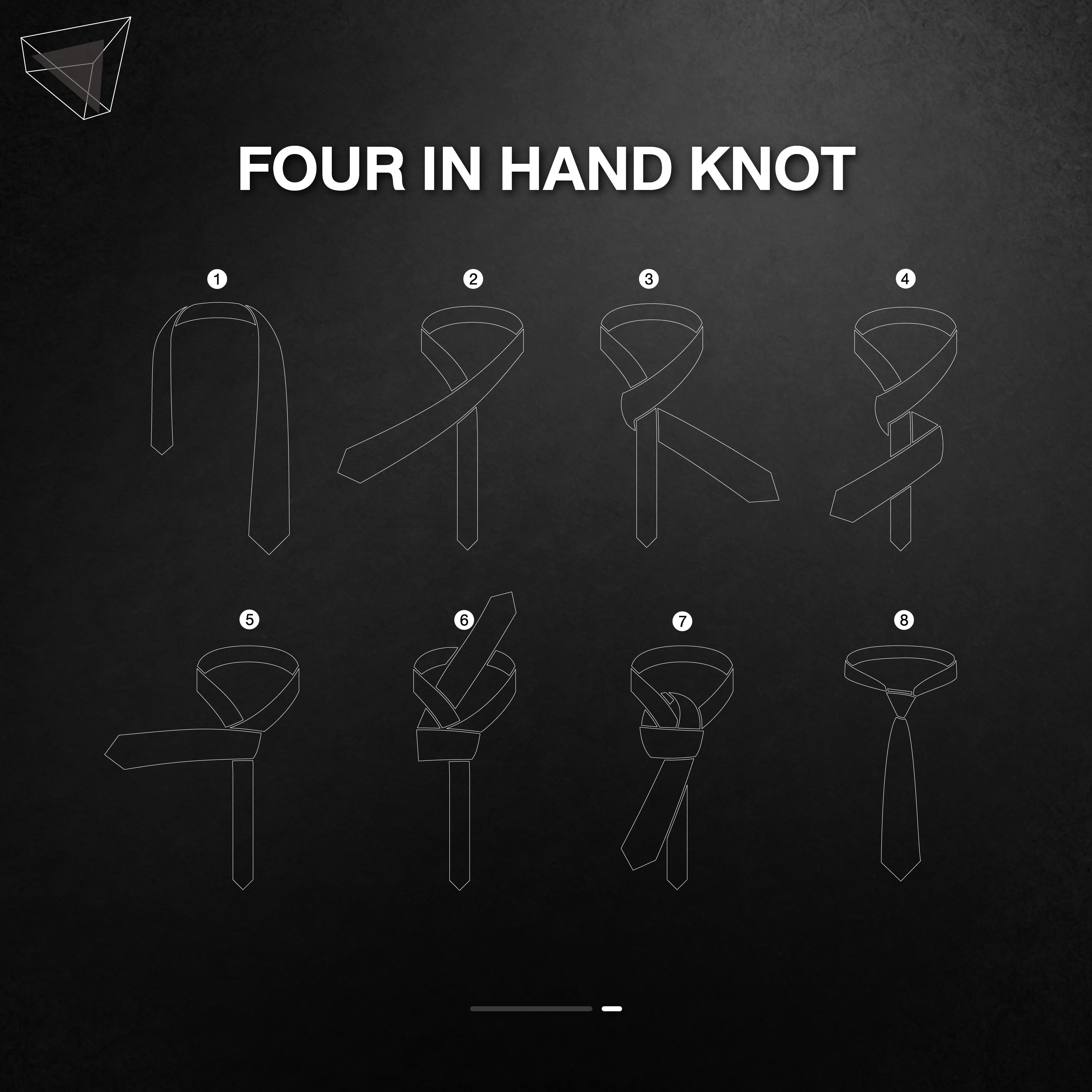วิธีผูกเนคไทแบบ Four in Hand Knot