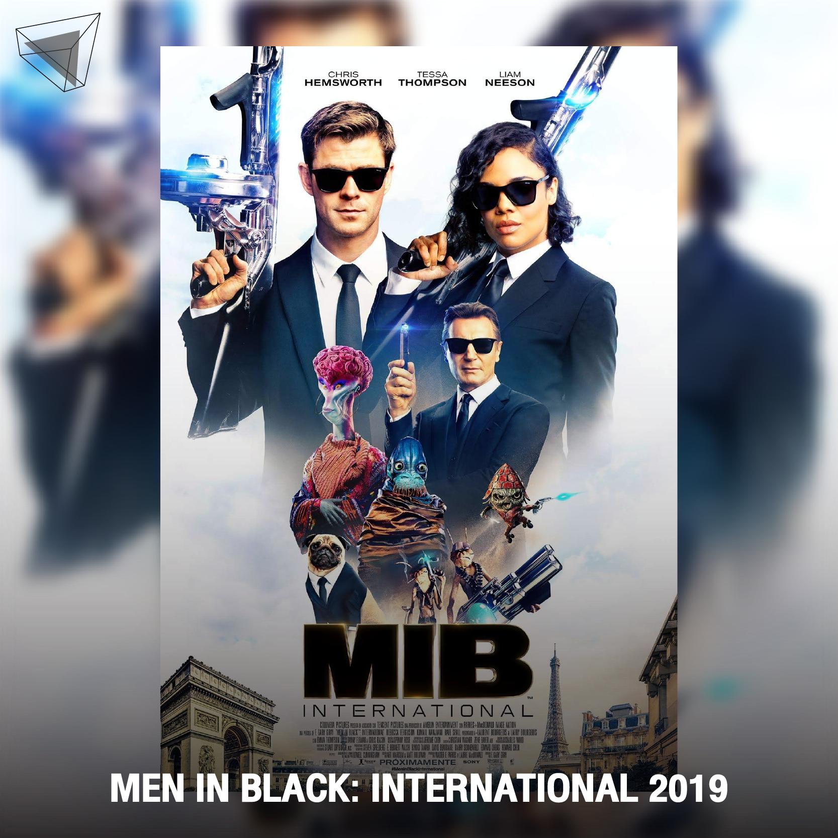 """หนังสายลับแนวไซไฟแอ็กชัน """"Men in Black: International"""" (2019)"""