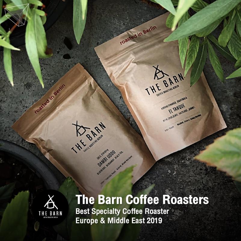 เมล็ดกาแฟ จาก The Barn Coffee Roasters
