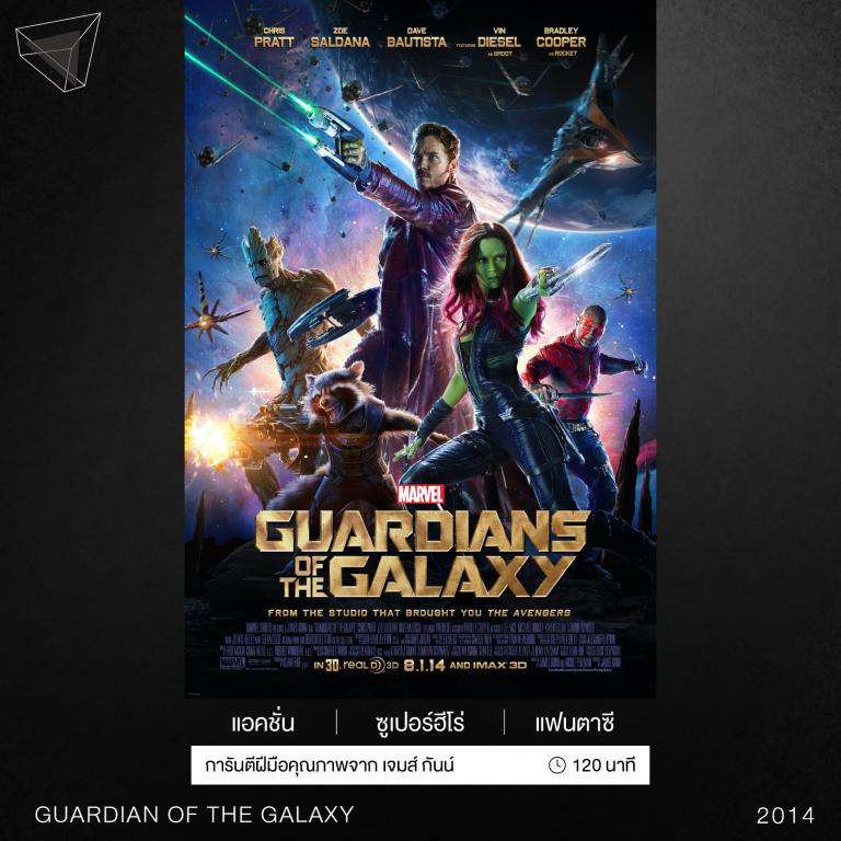 หนังเรื่อง Guardians of the galaxy