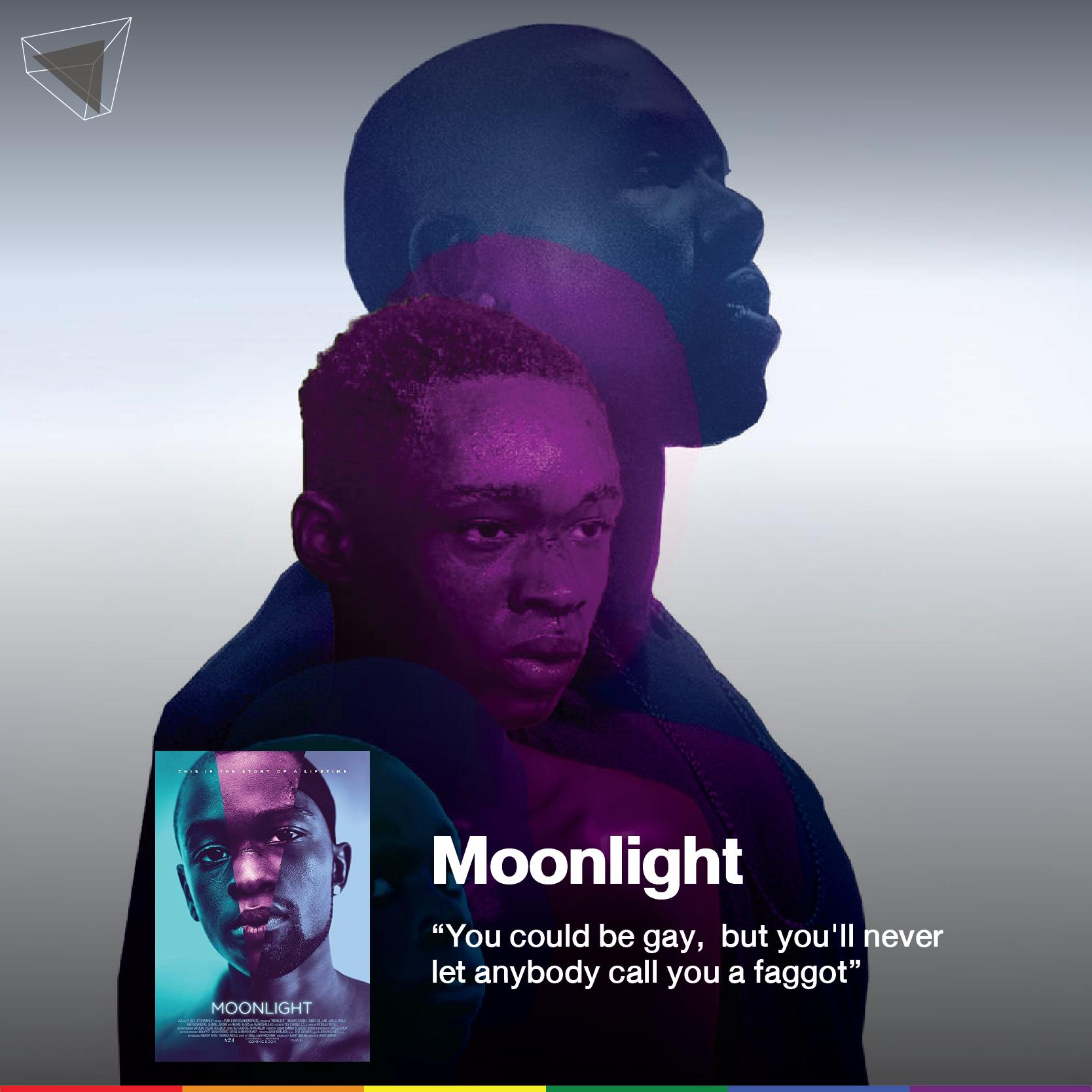 Moonlight (2016) หนังเกย์ผิวสี คว้ารางวัลออสการ์